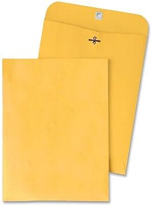 Quality Park Gummed Clasp Envelopes, 9 1/4