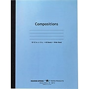 """Roaring Spring Center Sewn Stitched Composition Book, 10 1/2"""" x 8"""""""