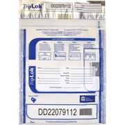 TripLok® CNP73609C Tamper-Evident Cash Bag, Clear
