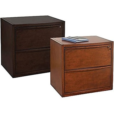 Staples Deluxe Wood Lateral File Cabinets 2 Drawer