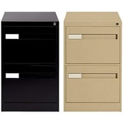 Global® 2800 Series Premium Vertical Legal File Cabinets, 2-Drawer
