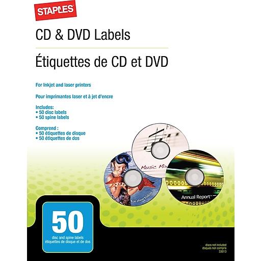 Staples cddvd labels 50pack 33013 cc staples httpsstaples 3ps7is maxwellsz