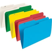 "Staples® Coloured File Folders, Legal Size, 8-1/2"" x 14"""