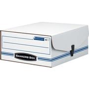 Bankers Box Liberty Binder-Pak Basic-Duty Check & Voucher Storage Boxes with Snap Closure, Letter, 1/Ea (48110)