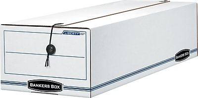 Bankers Box® Liberty® String & Button Storage Boxes, For 9 1/2 x 6