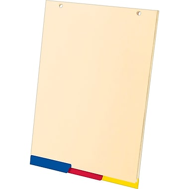 Ampad® SimpleSort Crossover Writing Pad Divider Refill, 8-1/2