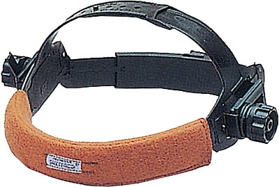 SWEATSOpad® Hook And Loop Strap FR Fleece Cotton Sweatband, Used With Non-Suspension Headgear