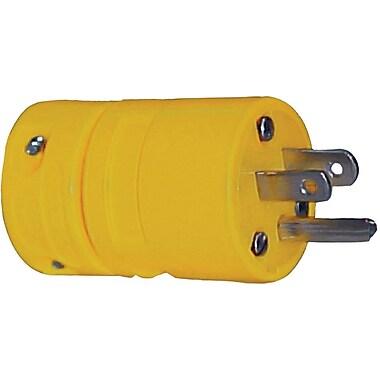 Super-Safeway® Rubber Plug, 0.335 - 0.64 in Conductor, 125 V, 15 A