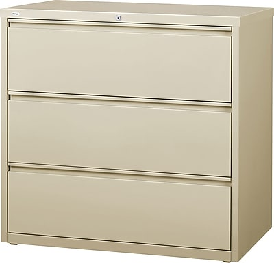 staples commercial 3 drawer lateral file cabinet putty 42 wide rh staples com 3 drawer lateral filing cabinet width 42 3 drawer lateral file cabinet used