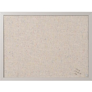 "MasterVision® 24""(W) x 18""(H) Designer Fabric Bulletin Board, Gray Frame, Each"