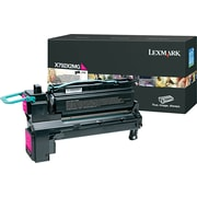 Lexmark Magenta Toner Cartridge (X792X2MG), Extra High Yield