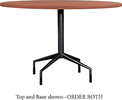 Safco® RSVP Round Laminate Table Top, Cherry, 42