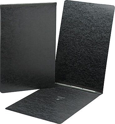 Smead® Prong Fastener Pressboard Report Cover, Black/Black, 1/EA (81179)