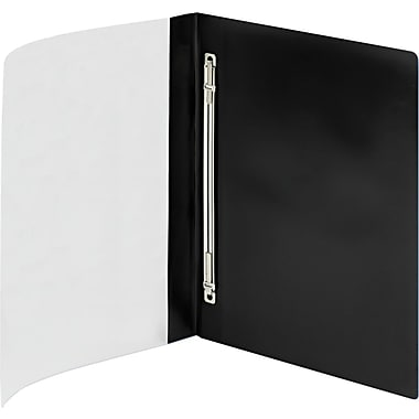 Poly Report Cover, Prong Fastener, Letter, , 1/2