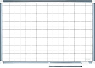 Mastervision Grid Planning Board, 1X2