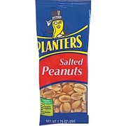 Planters® Salted Peanuts, 1.75 oz. Bags, 12 Bags/Box
