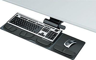 Fellowes ® Professional Series Compact Keyboard Tray, Black, 19