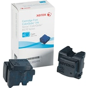 Xerox® 108R00926 Colour Qube Cyan Solid Ink Sticks, 2/Pack