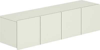 HON® Voi® Four-Door Laminate Overhead Cabinet, 14