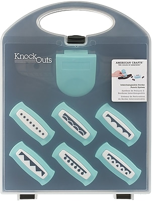 American Crafts Knockout Border Punch Value Kit