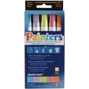 Elmer's Medium Point Permanent Marker, Assorted, 5/Pack