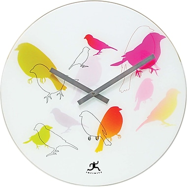 Infinity Instruments 14091 Early Bird Analog Wall Clock