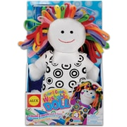 Alex Toys Color & Cuddle Washable Kit, Doll