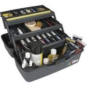 ArtBin Essentials 3 Tray Art Tote, Black
