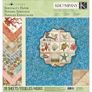 """K&Company Travel Specialty Paper Pad 12""""X12""""-28 Sheets"""