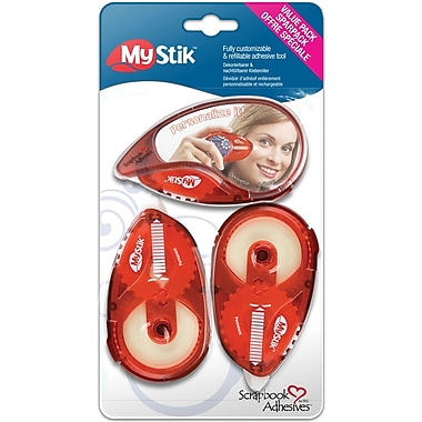 3L Mystik Dispenser Adhesive, 3/Pack