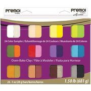 Polyform Premo Sampler Pack, 24/Pkg