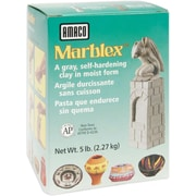 Amaco Marblex Self-Hardening Clay, 5 Pounds, Grey