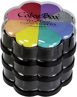 Clearsnap Colorbox Pigment Petal Point Option Pad, Pinwheel