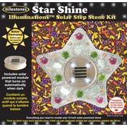 Midwest Products Solar Step Stone Kit, Star Shine
