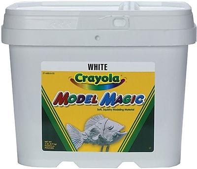Crayola Model Magic, 2 Pound Tub, White (57-4400)