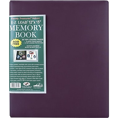 Pioneer Family Treasures Deluxe Fabric Postbound Albums