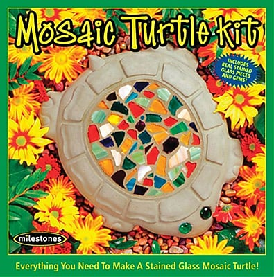 Midwest Products Mosaic Turtle Stone Kit