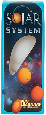Floracraft Styrofoam Solar System Kit, White 942145