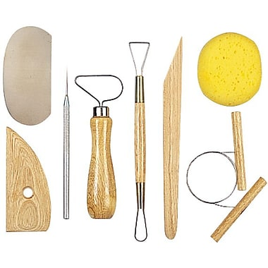 Amaco Pottery Tool Kit, 8 Pieces