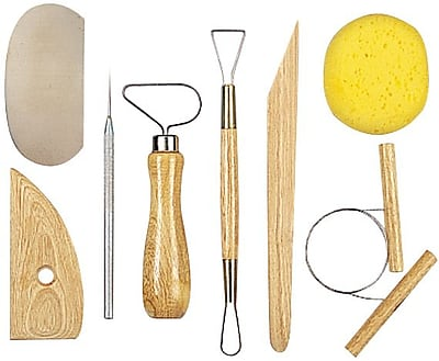 Amaco Pottery Tool Kit, 8 Pieces
