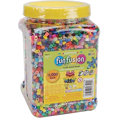 Perler Fun Fusion Beads, 11,000/Pkg, Multi Mix