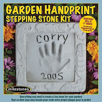 Midwest Products Garden Hand Print Stepping Stone Kit
