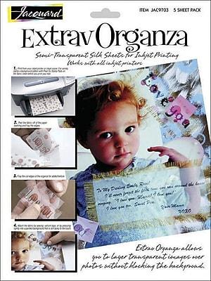 Jacquard Products Extrav Organza Silk, 8.5