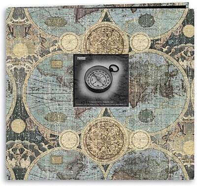 Pioneer Travel Postbound Album With Photo Window, 12