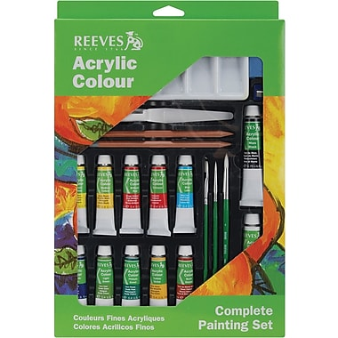 Reeves Complete Painting Set, Acrylic Color (8212141)