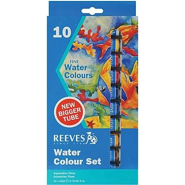 Reeves 22ml. Watercolor Paint Tubes, 10/Pack (8490110)