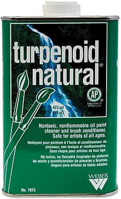 Martin/ F. Weber Natural Turpenoid Non-toxic 15.9 oz. Brush Cleaner (1813)