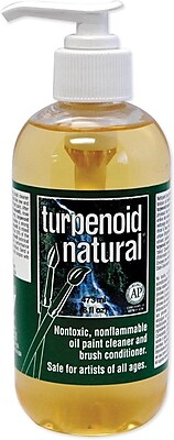 Martin/ F. Weber Natural Turpenoid Non-toxic 7.9 oz. Brush Cleaner (18246)