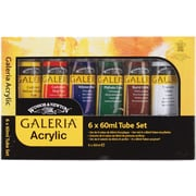 Reeves Galeria 60 ml. Acrylic Paint, 6/Pack (2190516)