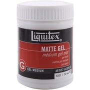 Reeves Liquitex Matte Gel Acrylic Medium, 8 Ounces